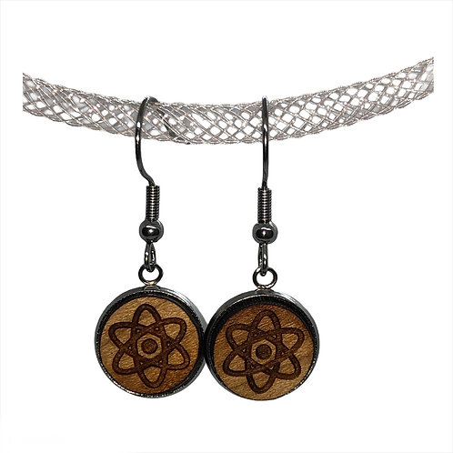 """Atom"" Earrings"