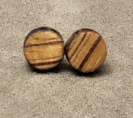 Zebra wood Studs
