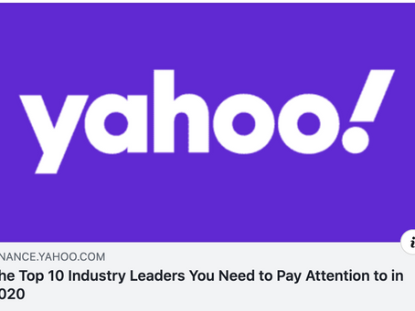 Jackie Zuk featured as Yahoo Finance Top 10 Entrepreneurs this 2020!