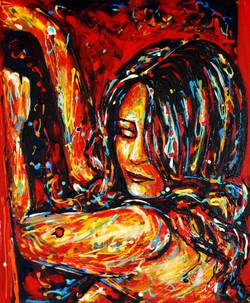 art dripping Diana Francia sensual