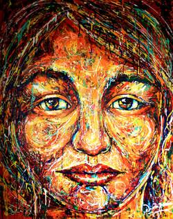 Diana Francia art dripping