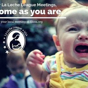 FAQ about La Leche League meetings