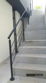 Guarda corpo em ferro para escada