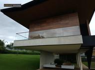 Guarda corpo vidro em varanda