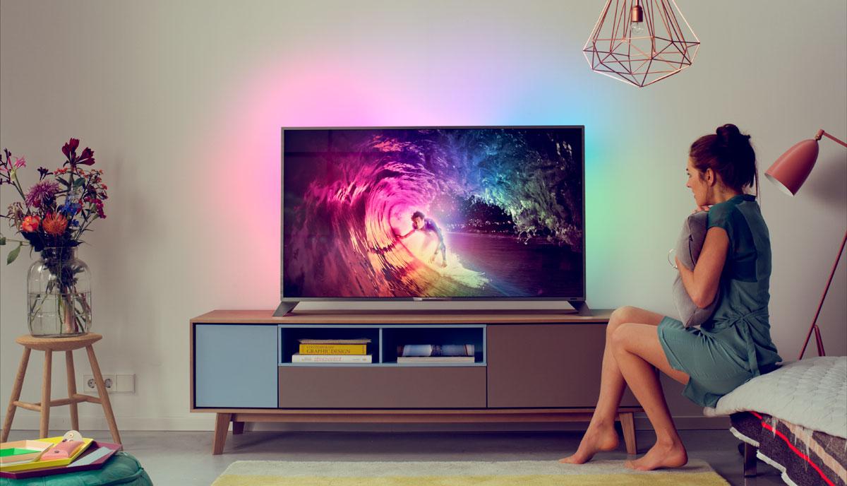 Телевизор в зале