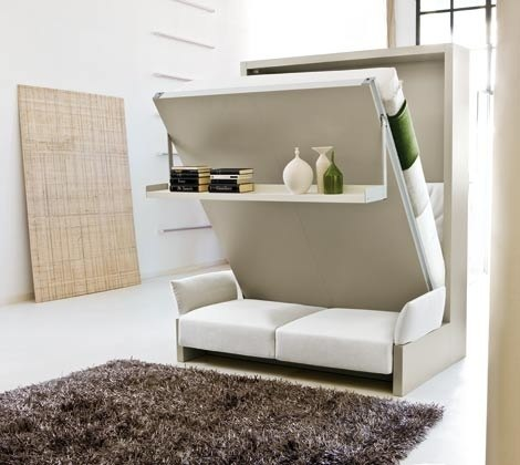 Диван-кровать в зале