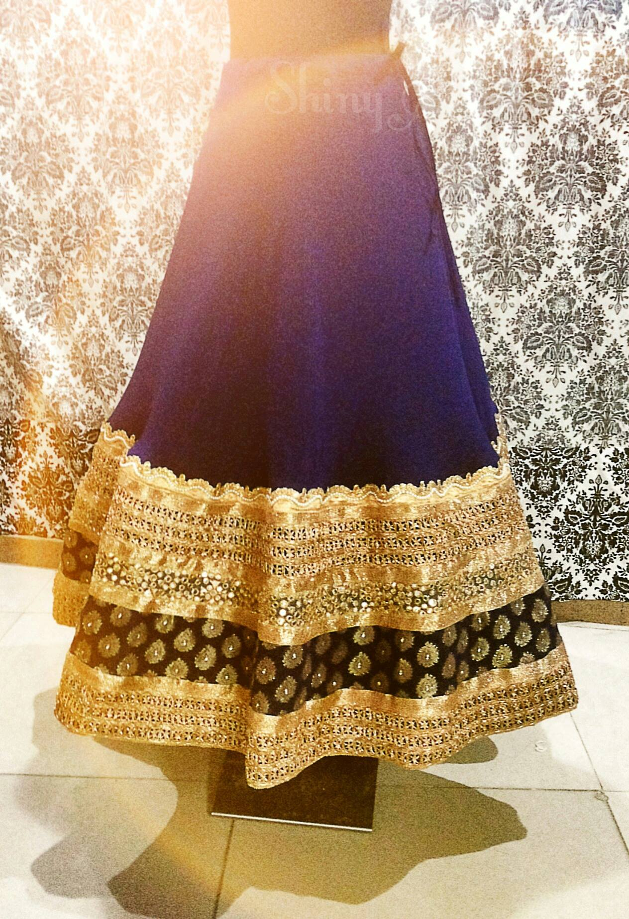 Customised bridal lehenga