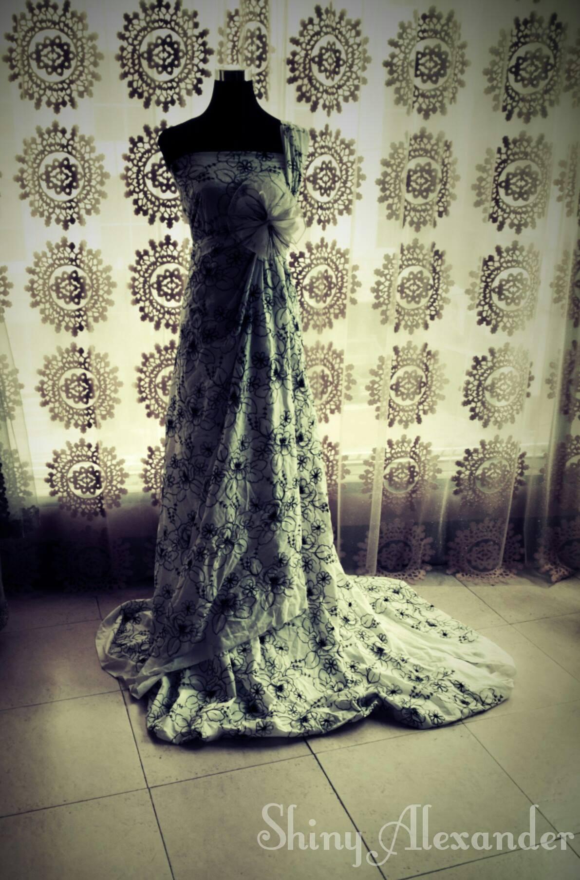 Drape Gown_