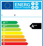 Scala di efficienza energetica per un frigorifero