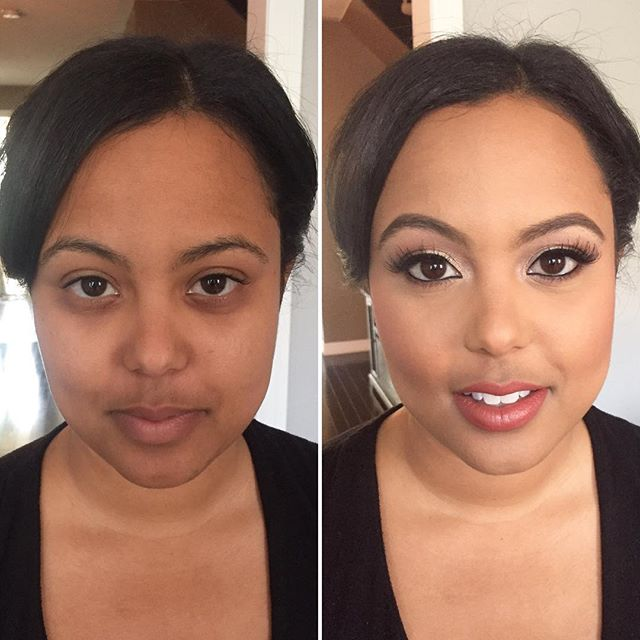 Just a little #liner and #lashes to bring out this beauty's features...