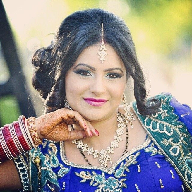 My #BeautifulBride #MakeupByDivineBeauty #Bride #Makeup #BoldAndBeautiful