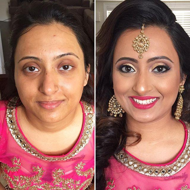 Such a #beauty! #MakeupByDivineBeauty #BeforeAndAfter #MakeupTransformation #Makeup #HudaBeauty #Dre