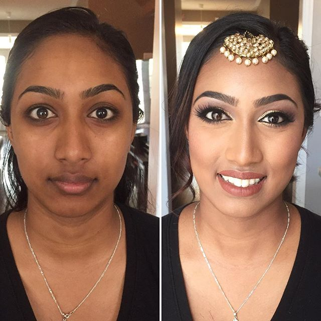 This #doll dazzled with a #gold lid and some #falsies to showcase as a #Bridesmaid for her sis-in-la
