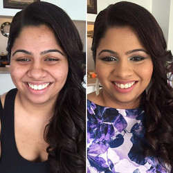 Such a sweetheart with some killer style! #MakeupByDivineBeauty #MakeupTransformation #BeforeAndAfte