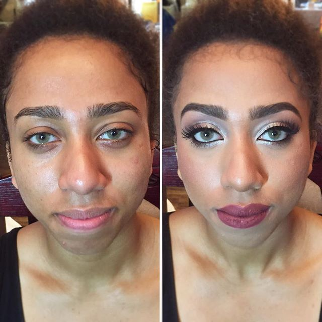 Just a little #glam for this darling! 😘 These #eyes tho! 👀 #MakeupByDivineBeauty #Makeup #BeforeAn
