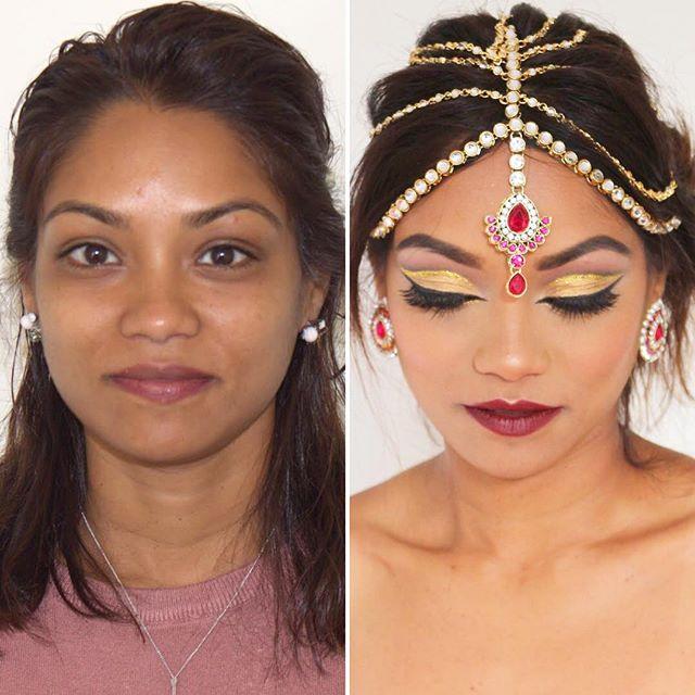 #MakeupByDivineBeauty #MakeupTransformation #BeforeAndAfter #EnhancingYourNaturalBeauty #Makeup #Hud