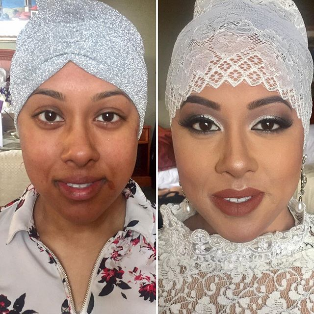 This #Hijabi #Bride is such a #beauty..