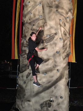 Another happy night climber.