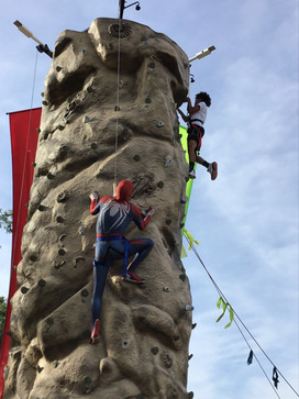 Abilene Spidey always makes a good climb