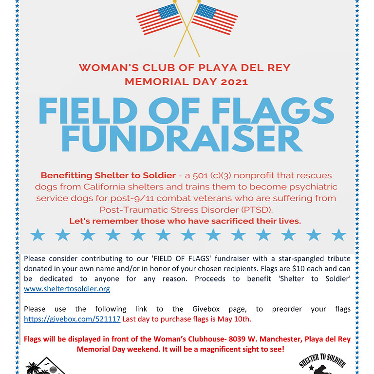 Field of Flags Fundraiser