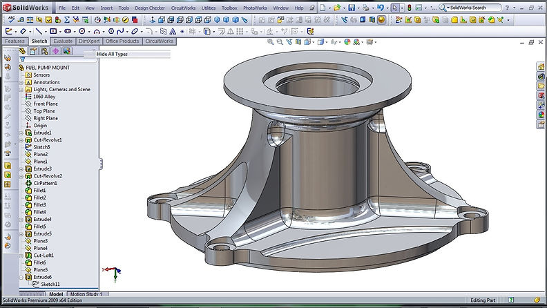 3D-CAD-Modeling-SolidWorks-High-Performa