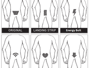 Manscaping your Junk and the Designs