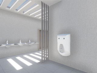 High -Tech Urinal is Set to Take Men's Personal Hygiene to a New Demotion.