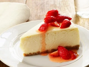 A GREAT SHAVE DESERVES A GREAT CHEESE CAKE.