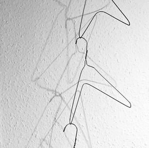 wire sculpture/mobile