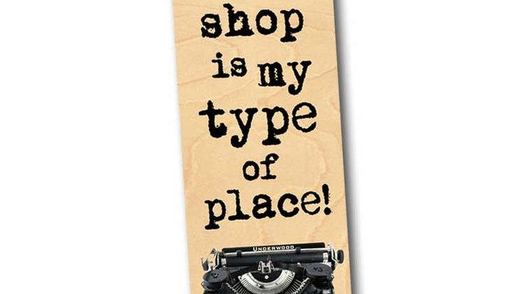 Bookshop Bookmark