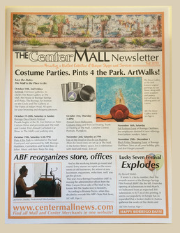 2019 Center Mall Newsletter-Cover Page