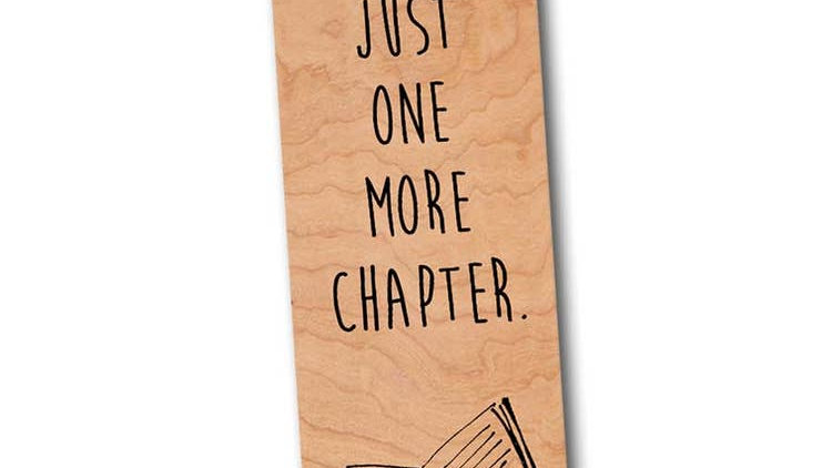 One More Chapter Bookmark