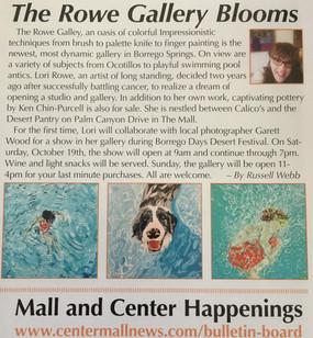 2019 Center Mall Newsletter-R.Webb