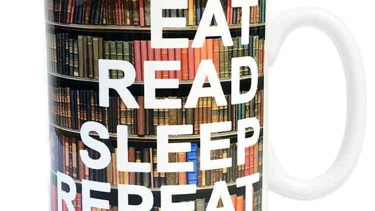 Eat Read Sleep Mug