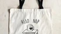 Read Nap Repeat Tote Bag