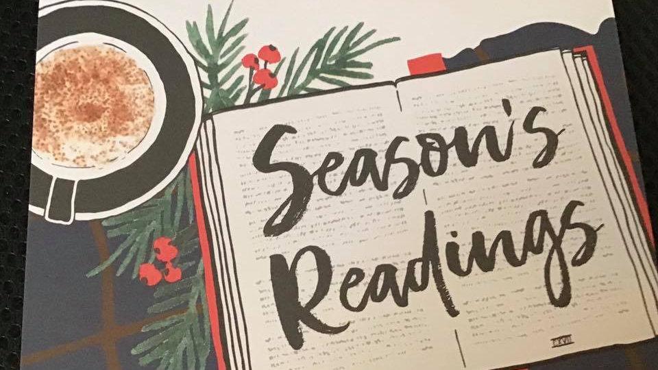 Christmas Cards Season's Readings