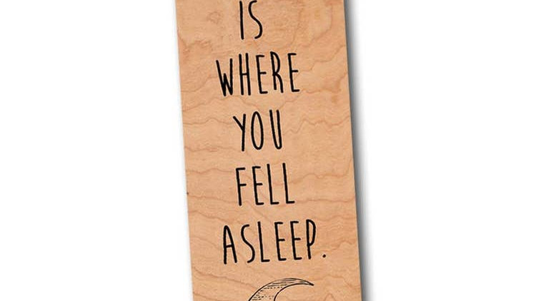 Fell Asleep bookmark