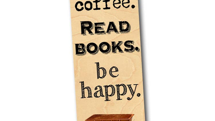 Coffee Bookmark