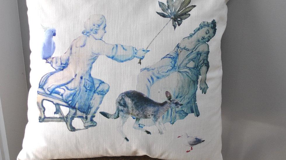 First Encounter Cushion Cover