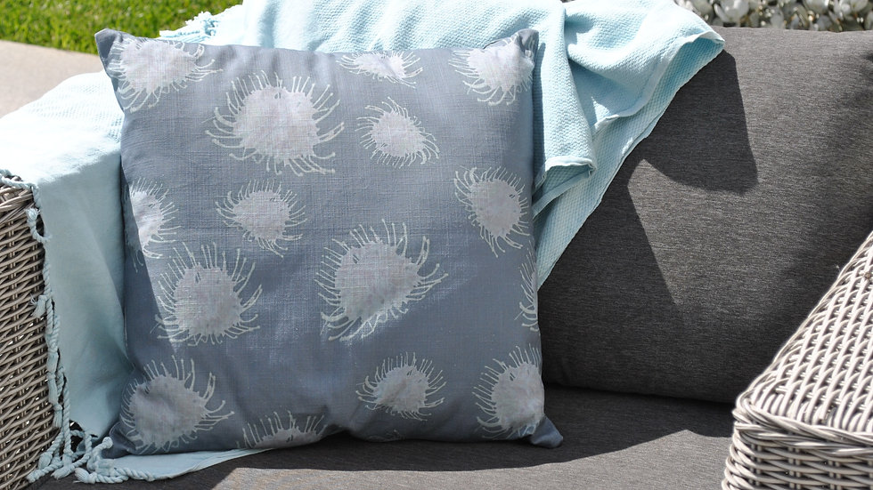 Dark Grevillea Outdoor Cushion