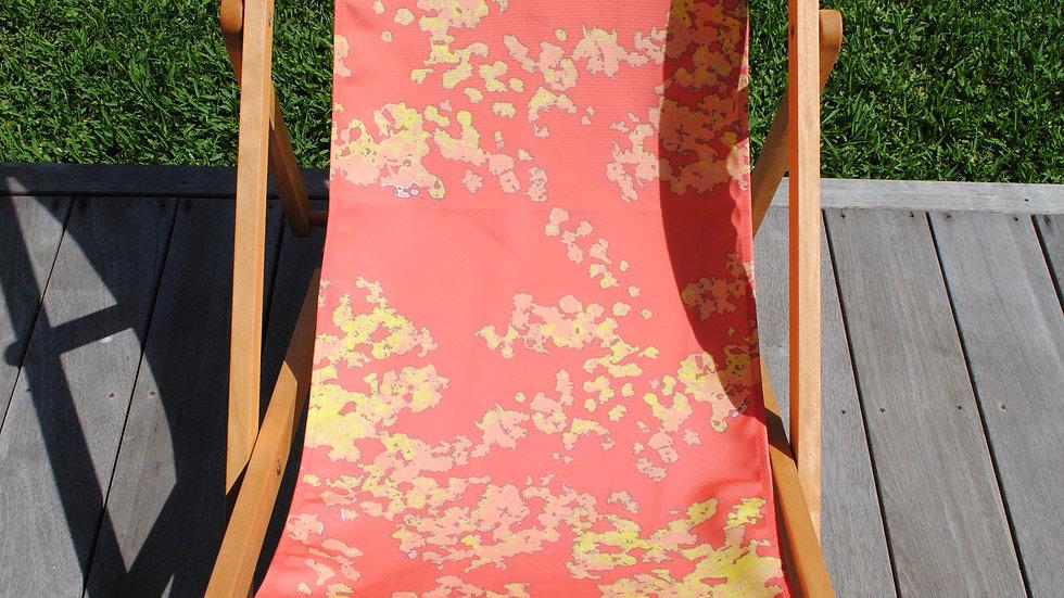 Red Wattle Deckchair