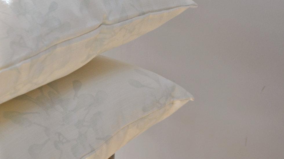 Neutral Gum Bud Cushion Cover