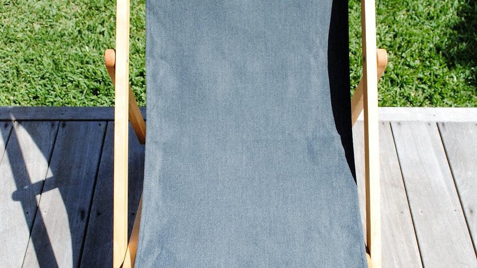 Plain Charcoal Sling