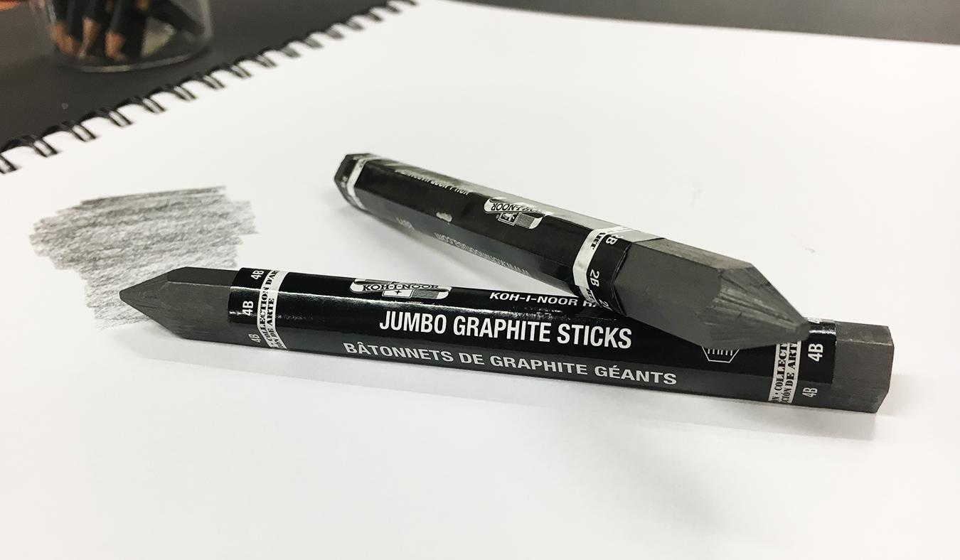 Jumbo Graphite Sticks