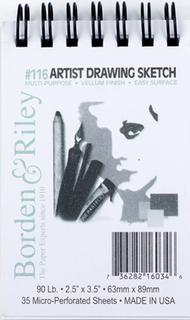 #116 Artist Drawing Sketch Vellum