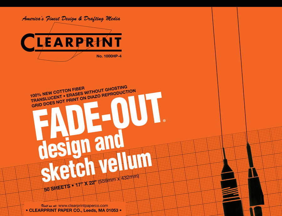 "Clearprint Fade-Out Pad 17""x22"""