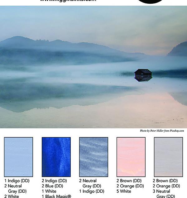 Higgins Mixing Palette 16