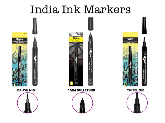 India Ink Markers