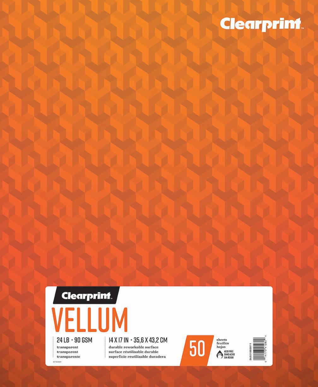 """Vellum 14""""x17"""""""