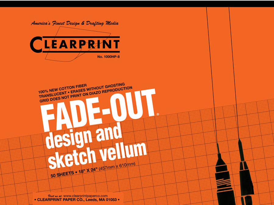 "Clearprint Fade-Out Pad 18""x24"""